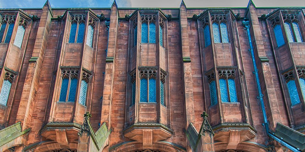 Weer in Manchester John Rylands library