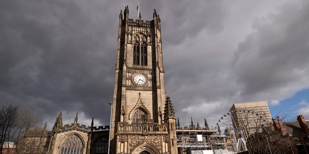 weer in manchester cathedral